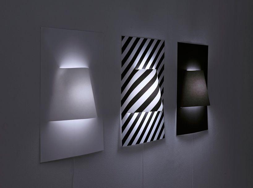 lamparas de pared con material reciclado buscar con google