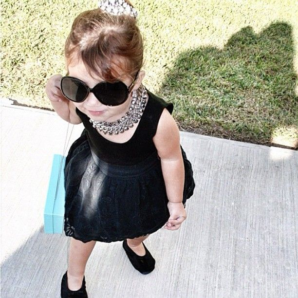 Kids Fashion Style Baby Toddlers Cute Pretty Adorable Clothes Outfit Mini Little Audrey Hepburn Pl Kids Fashion Girl Toddler Fashion Stylish Kids