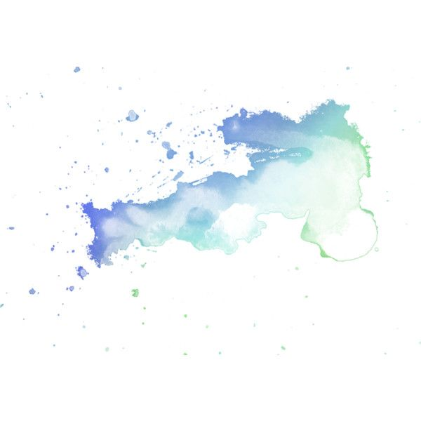 Watercolor Splashes Liked On Polyvore Featuring Effects