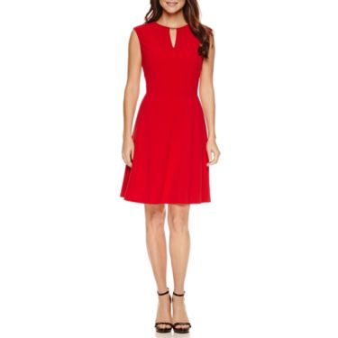 7da5da00126 Buy Chelsea Rose Sleeveless Bar Neck Fit N Flare Dress at JCPenney.com  today and enjoy great savings.