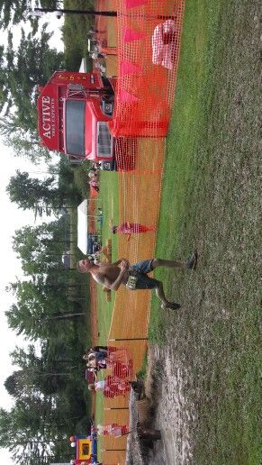 2013 swampfoot 4 mile. Obstacle course... brother in law won his heat....great job....