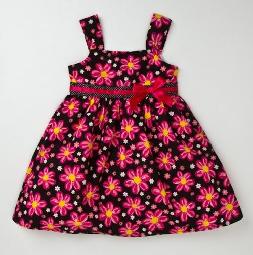 Adorable Floral Dress for Baby.