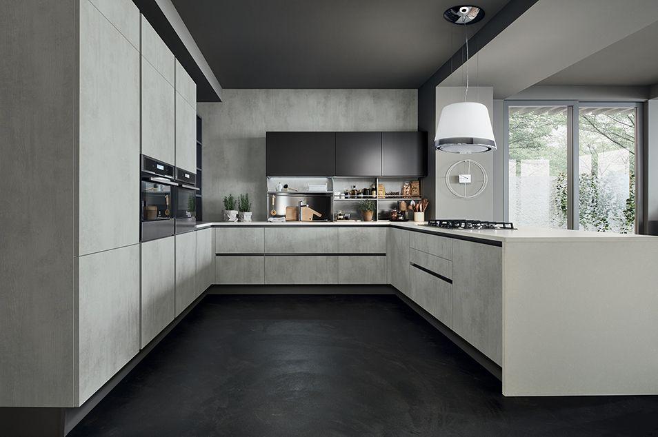 Veneta Cucine modello Oyster | Kitchens | Pinterest | Oysters ...