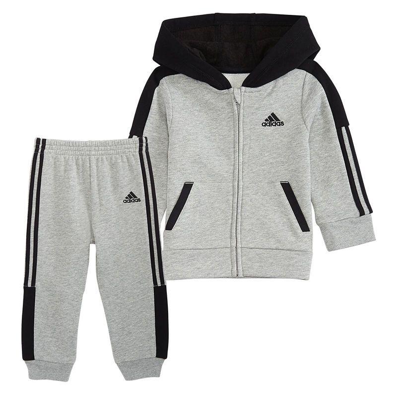 adidas fleece jogger set