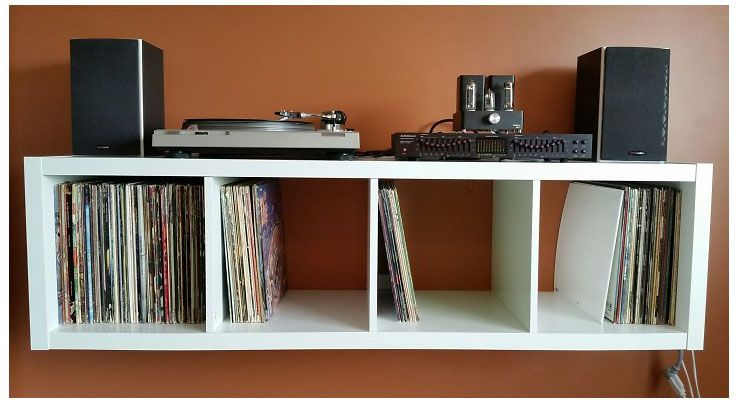 Image Result For Ikea Kallax Record Player Stand Record Player