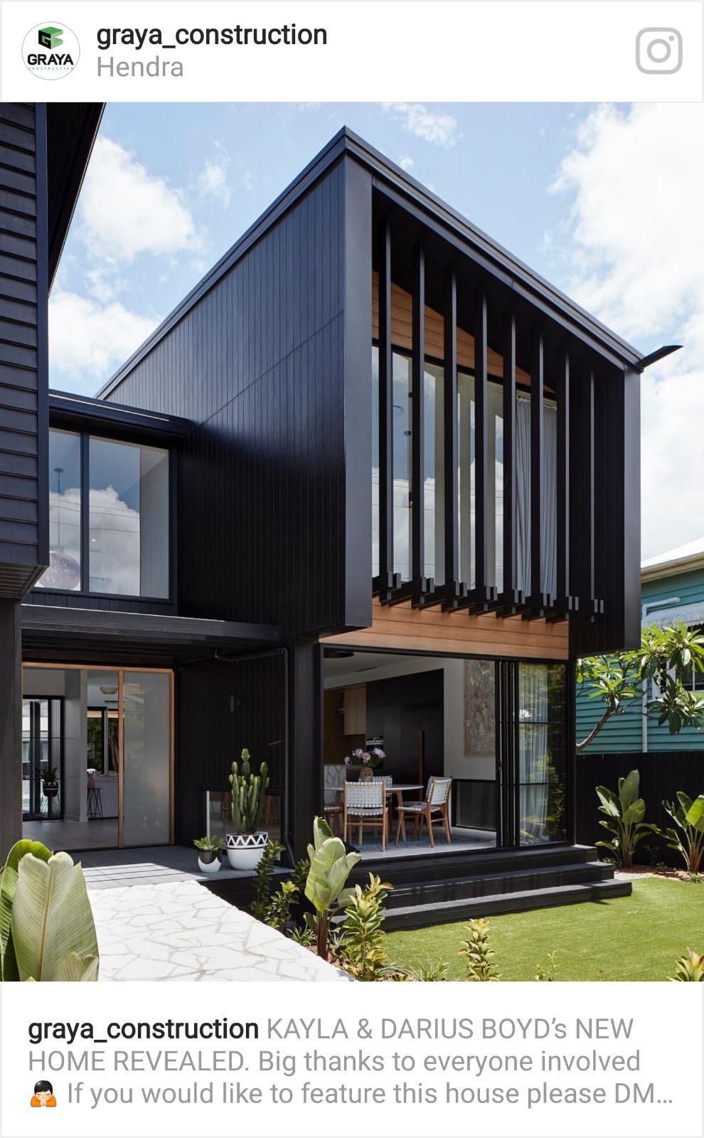 Devanture maison ma maison de rêve contemporain balcon housses maisons modernes