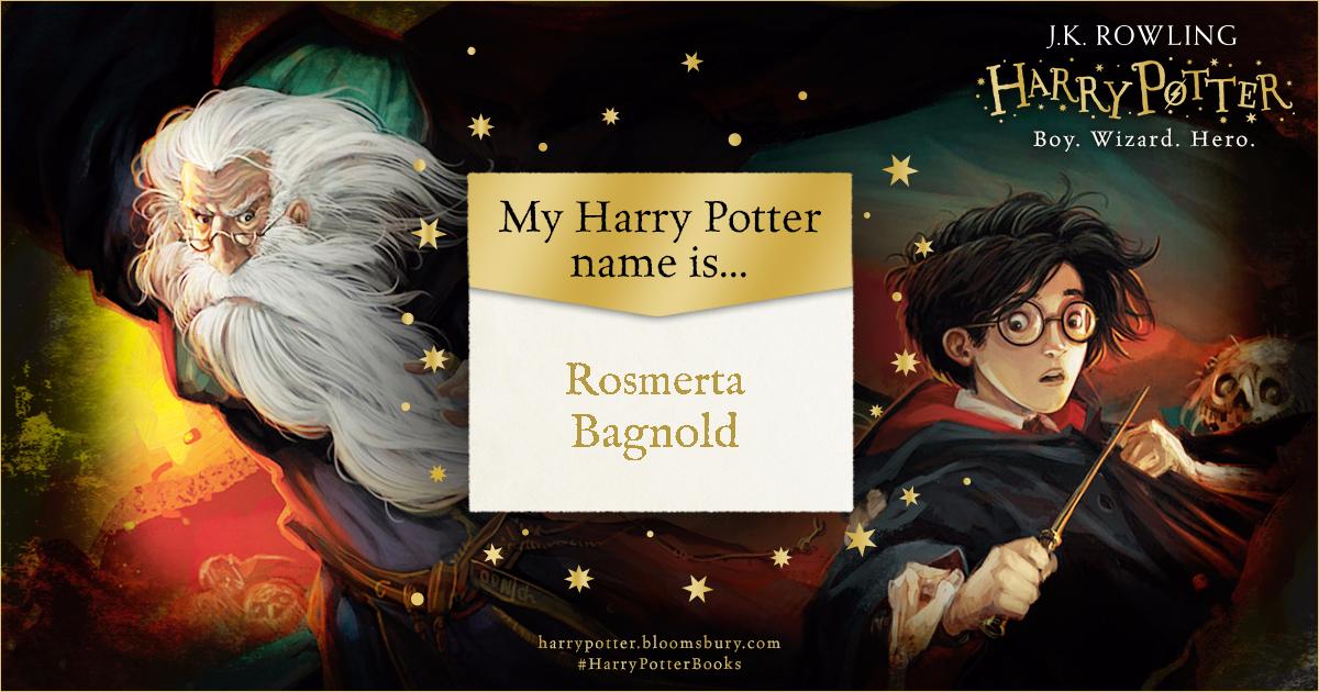 Harry Potter Harry Potter Name Generator Harry Potter Names Harry Potter Books Harry Potter Books Name Generator Harry Potter Quizzes