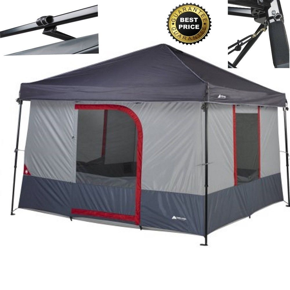 Ozark Trail 6 Person ConnecTent For Canopy C&ing Tent Gray NEW No Tax # OzarkTrail #  sc 1 st  Pinterest & Ozark Trail 6 Person ConnecTent For Canopy Camping Tent Gray NEW ...