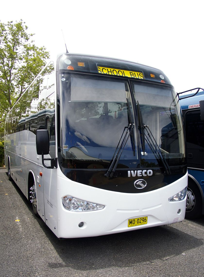 King Long With Iveco Branding Busse