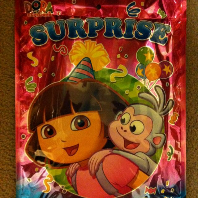 Dora Surprise Bags Found At Dollarama For 2 00 Perfect For My Lil Girl S 2nd Bday Party I Haven T Opened One But It Fee Bday Party Coloring Books Dora
