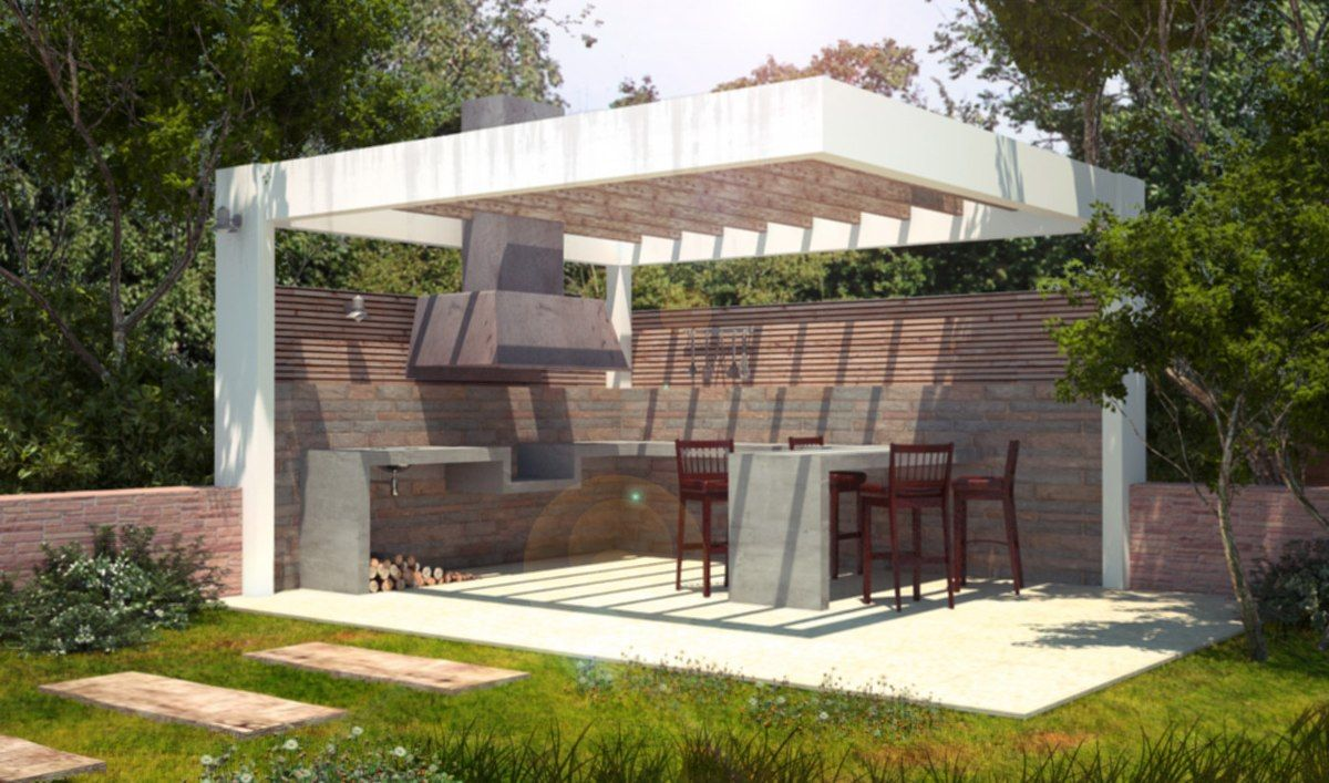 Terrazas quinchos dise os construcci n proyectos for Terrazas quinchos