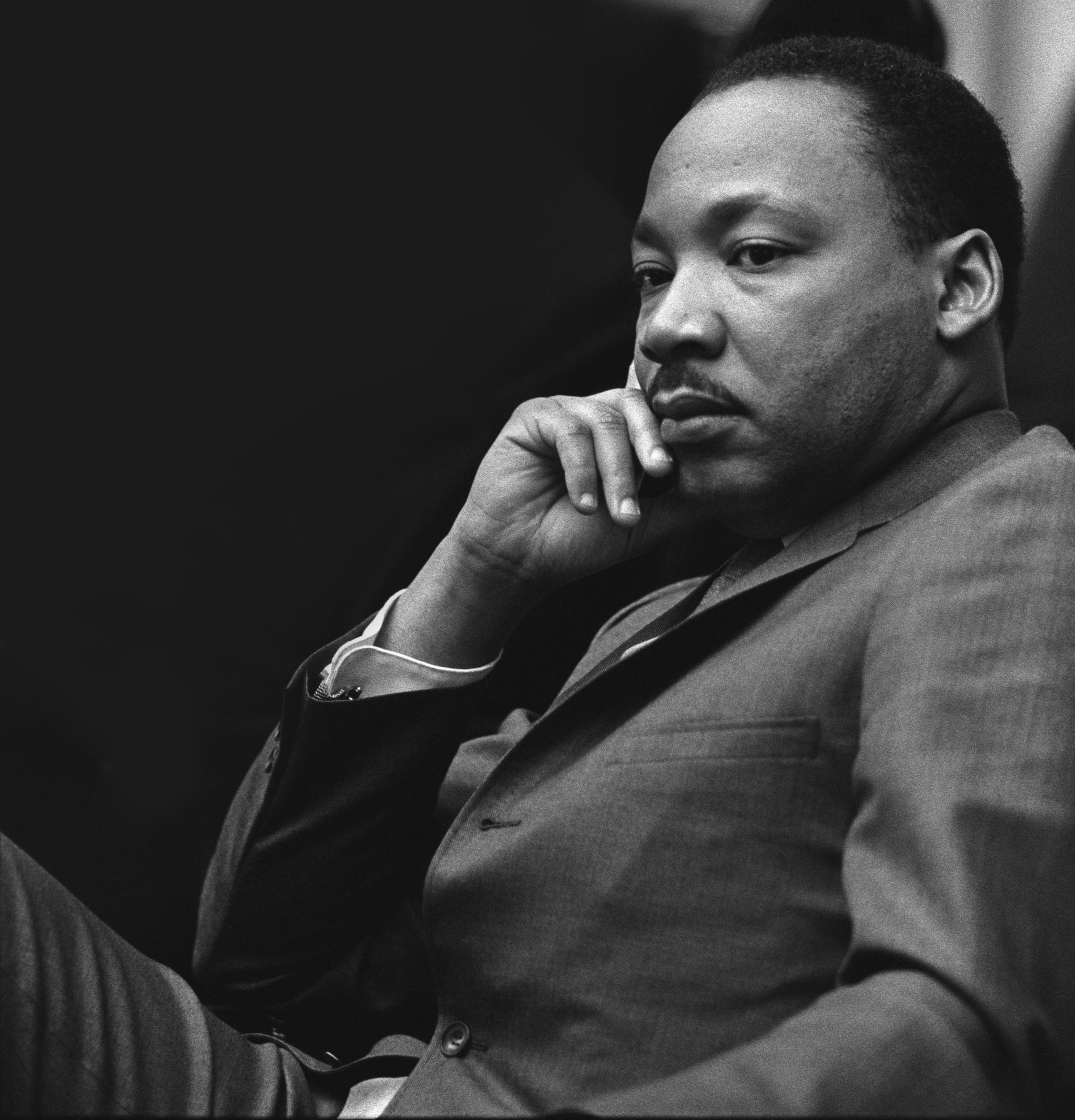 Martin Luther King Jr 1929-1968 BW Poster Dr