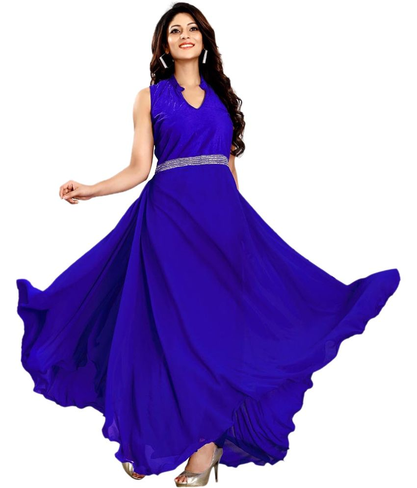 72% discount on Banjara Sellers Blue Georgette Gowns http://www.shopping-offers.in/clothing-deals/for-women-deals/banjara-sellers-blue-georgette-gowns/