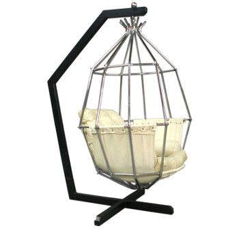 Genial Hanging Parrot Cage Chair