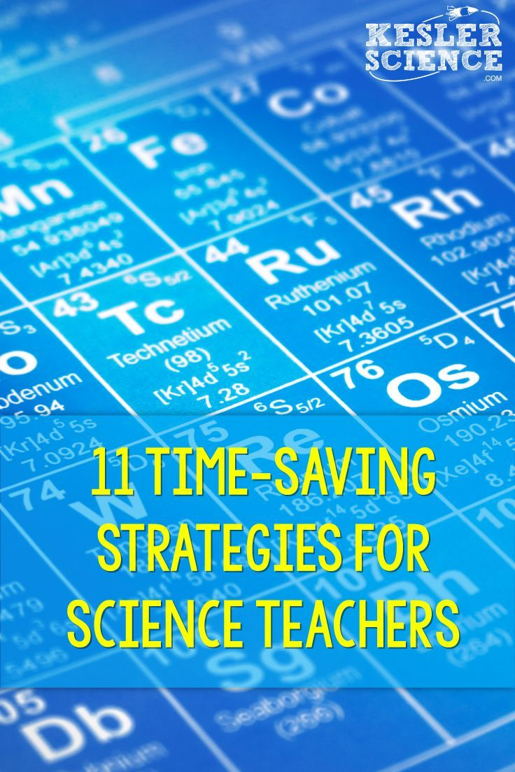 11 Time-Saving Strategies for Science Teachers