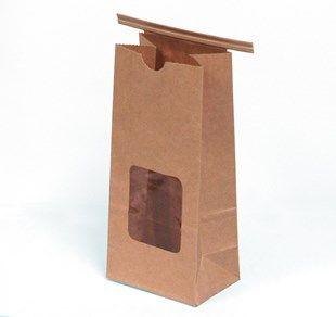 1 2 Kraft Coffee Cookie Bags With Tin Ties
