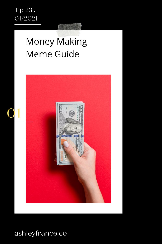 Money Making Meme Guide In 2021 Network Marketing Tips Engagement Marketing Network Marketing