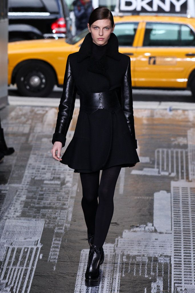 DKNY Runway 2012 Fall Coat