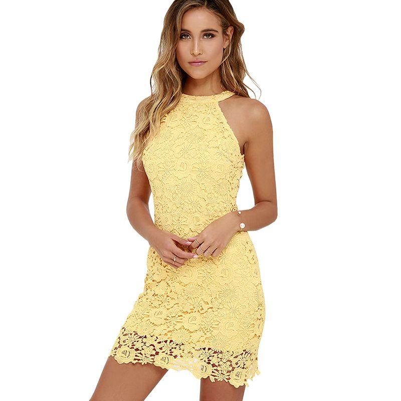 sexy partie droite robes de mari e filles jaune mini jupe plus la taille femmes dentelle robes. Black Bedroom Furniture Sets. Home Design Ideas