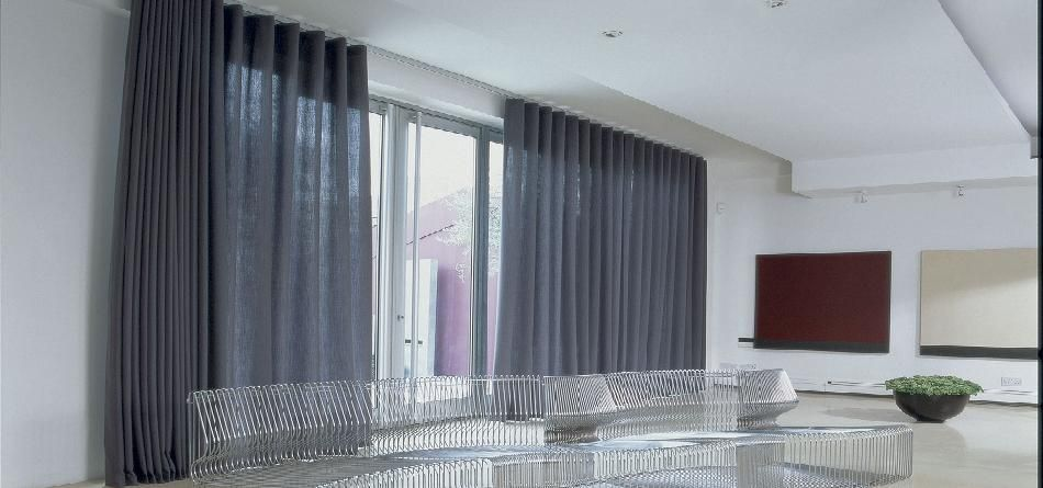 Wave Curtains Images Google Search Sliding With Blinds