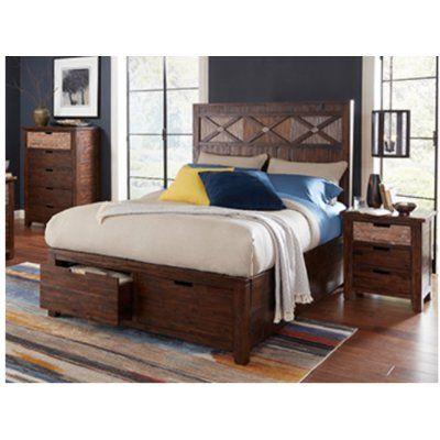 Desoto Upholstered Storage Standard Bed Bedroom Furniture Sets