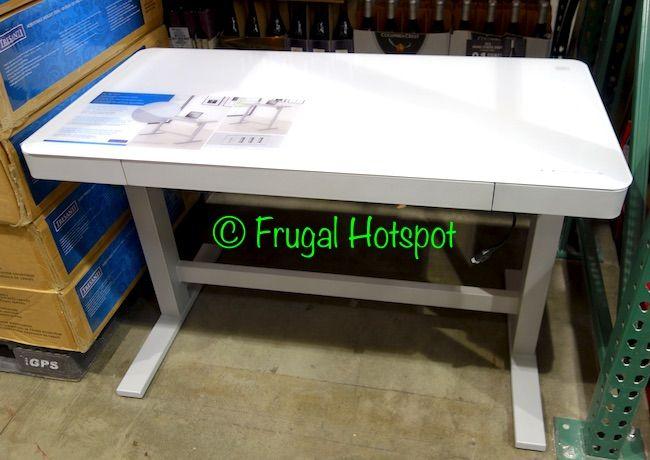 Costco Sale Tresanti Adjustable Height Desk 199 99 Adjustable