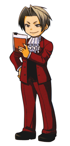 Miles Edgeworth Ace Attorney Well Fine This Picture Is A Little Cute But It Still Doesn T Mean He S Not A