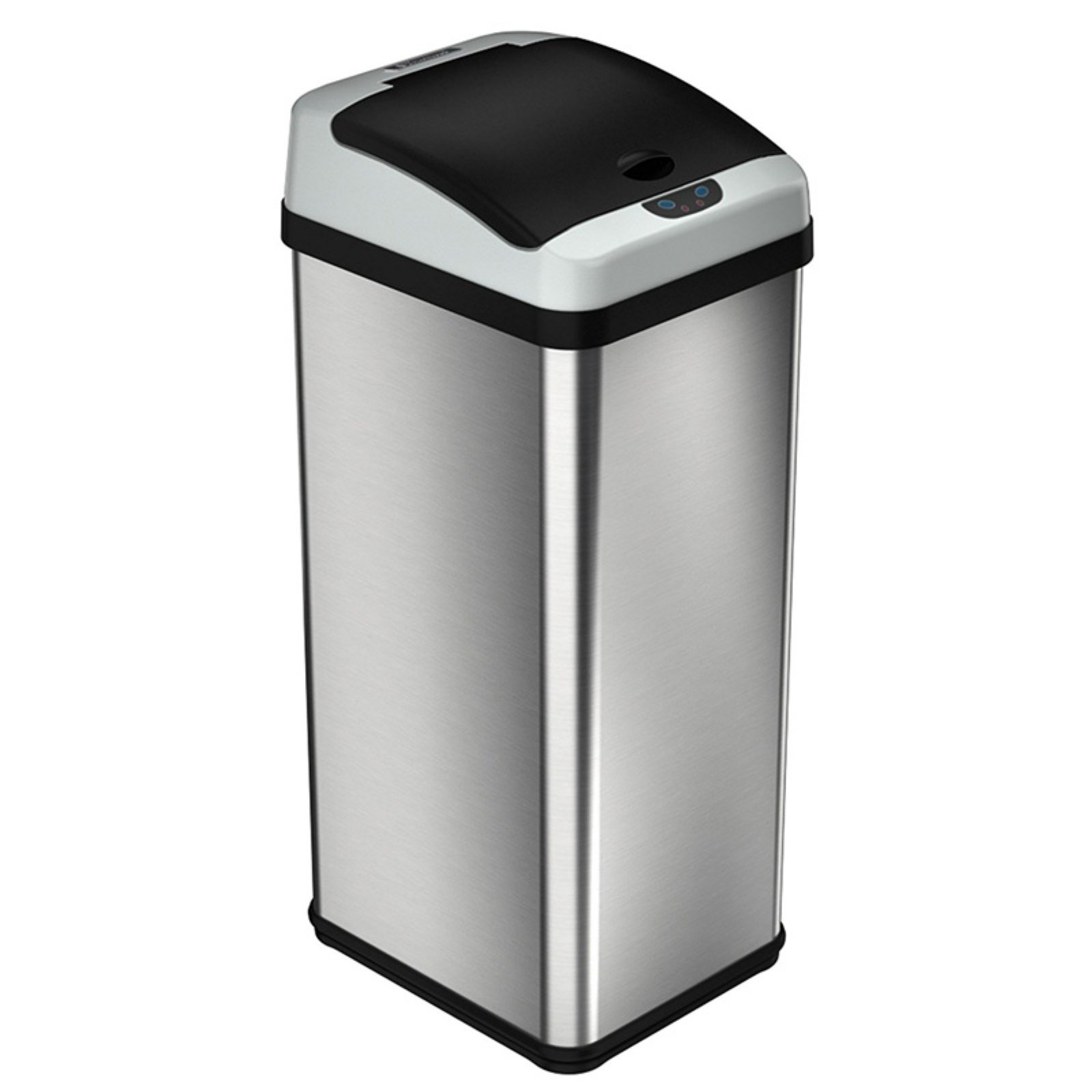 Itouchless It13rx Trashcan Rx Stainless Steel 13 Gal Trash Can In