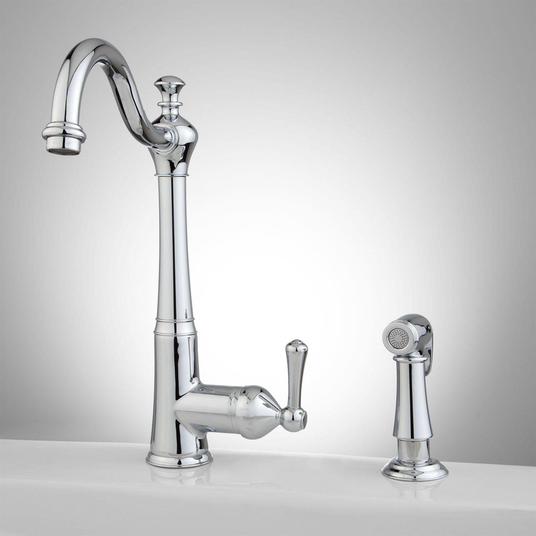 Mulder single hole kitchen faucet