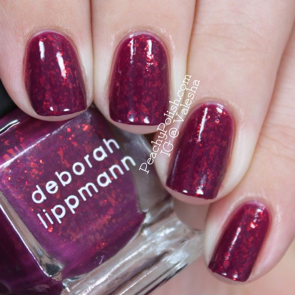 "Deborah Lippmann's ""Raspberry Beret"""