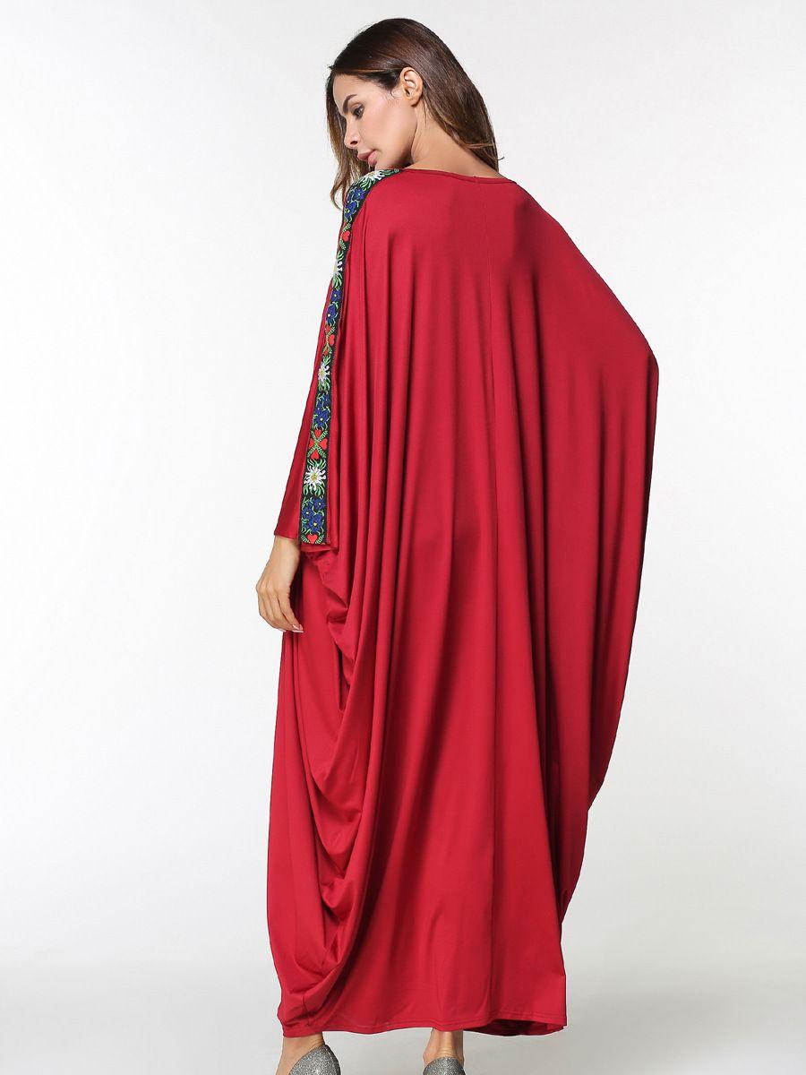 new arab elegant loose abaya kaftan islamic fashion muslim