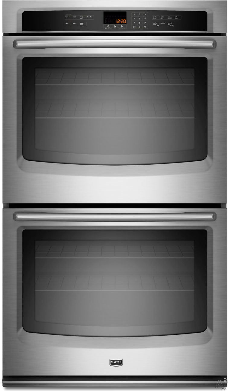 Maytag Mew7630a 30 Double Electric Wall Oven With 5 0 Cu Ft
