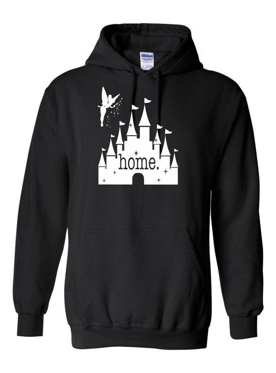 Disney Gift for Her Castle Shirt Cropped Sweatshirt Disney Castle Home Crop Hoodie