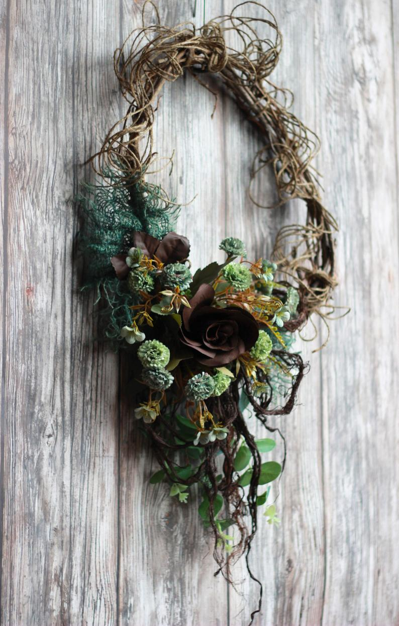 Photo of Wreaths for front door year round
