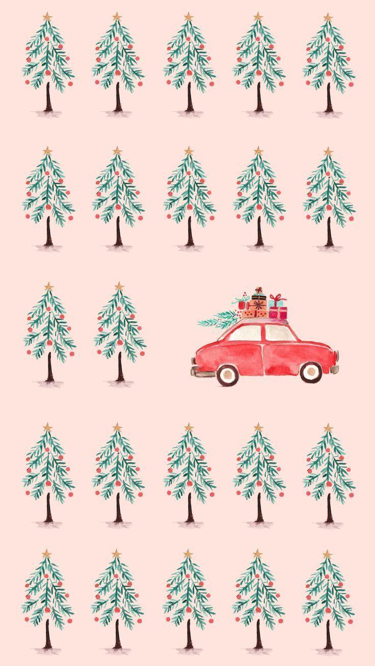 Fun (und kostenlos!) Urlaub & Winter Phone Wallpapers - Grafik Graphic Illustr #simpleaestheticwallpaper