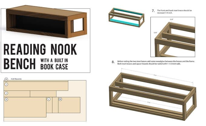 Plans For Reading Nook Bench Nook Bench Reading Nook Living