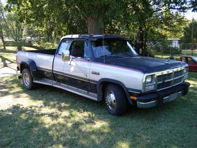 dodge 1 ton dually | Safarri - For Sale: 90 Dodge D350 1 ton