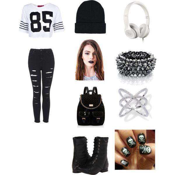 bad girl by jiahbrown245 on Polyvore featuring moda, Boohoo, Topshop, Naughty Monkey, Forever New, Fiorelli, Lime Crime and Beats by Dr. Dre