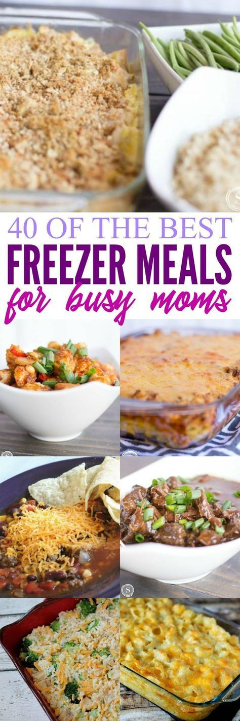 Photo of 30 Freezer Meal Ideas for Busy Moms