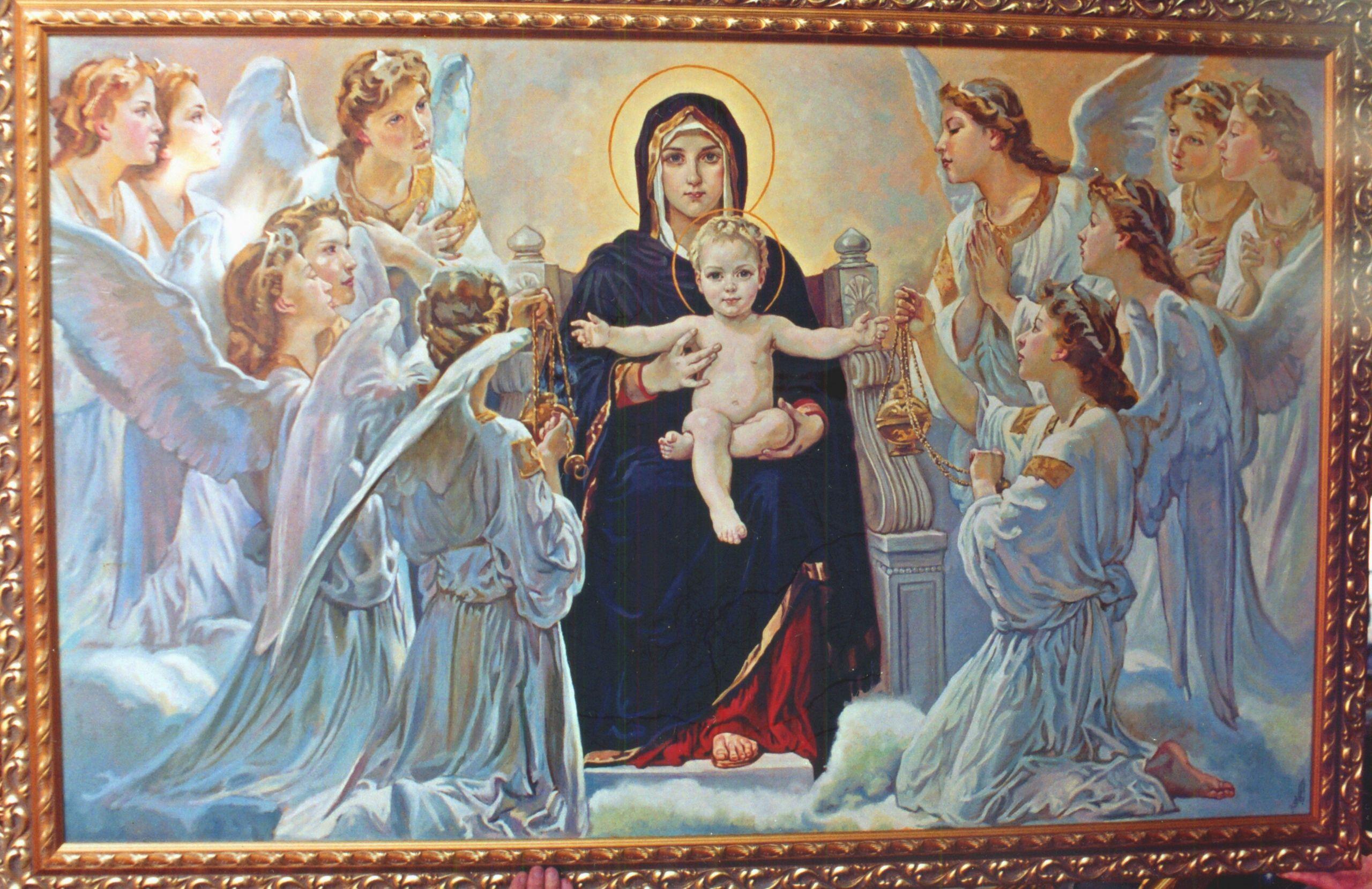 видео ангелы и божья мать картинки невероятная женщина стала