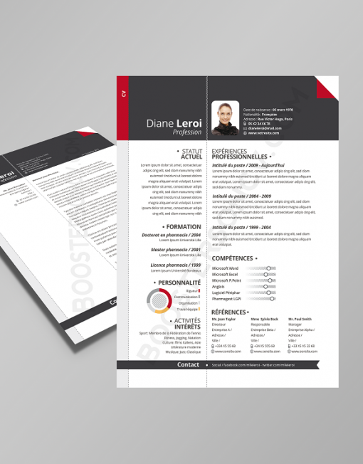 lettre de motivation modele cv lettre com CV + lettre de motivation assortie lettre de motivation modele cv lettre com