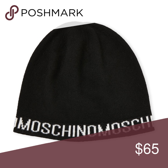 Moschino Beanie New with tags. Made in italy. will post more pics Moschino  Accessories Hats 28ff8fe360b