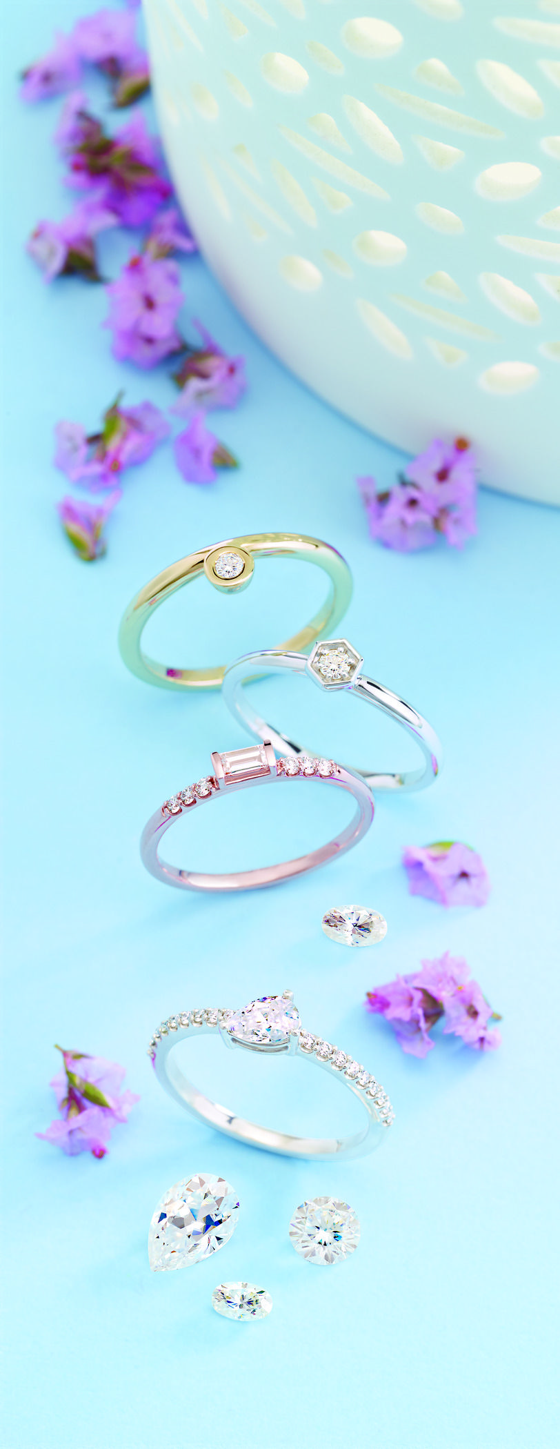 Stackable Rings Initial jewelry, Initial ring, Wedding