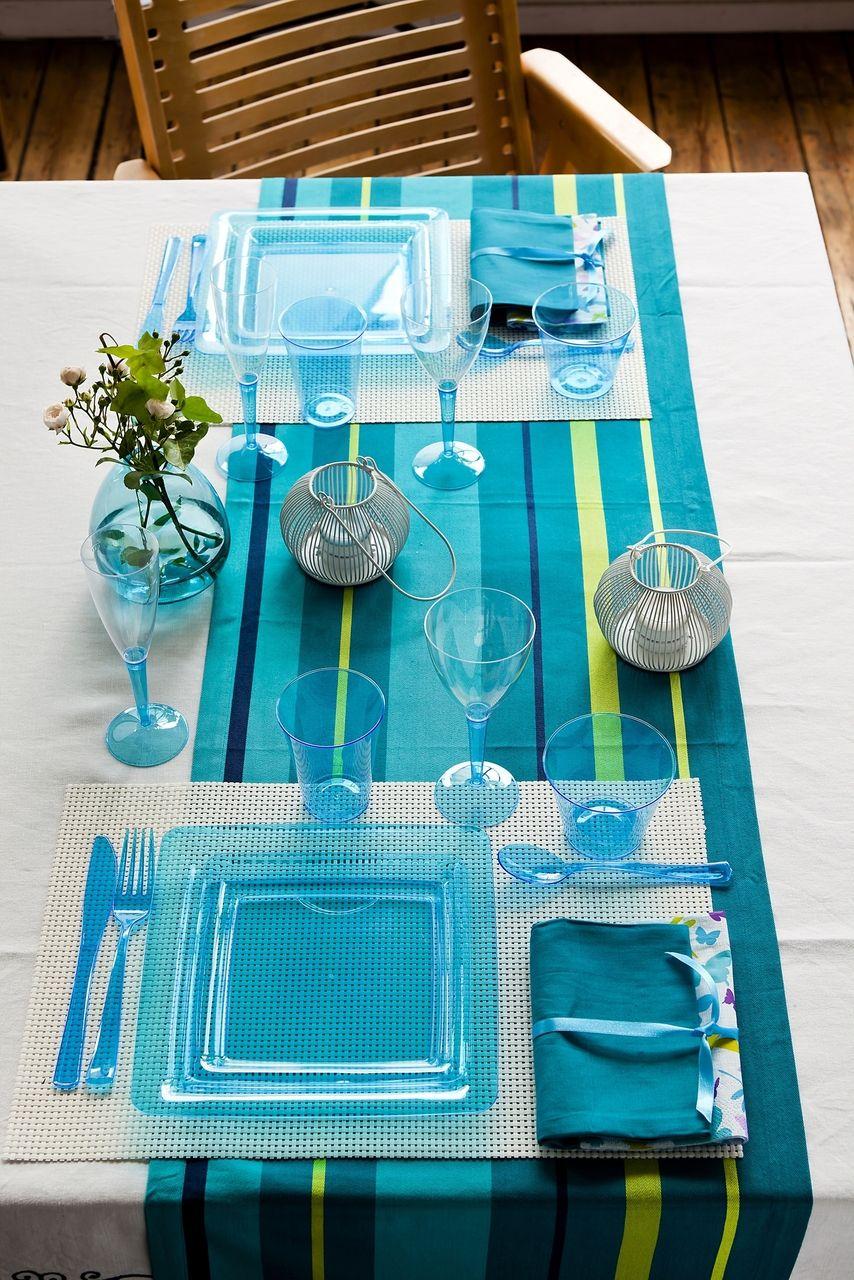 partywaretableware.com. Plastic PlatesKitchen ... & partywaretableware.com - Mozaik Turquoise Blue Small Square Plastic ...