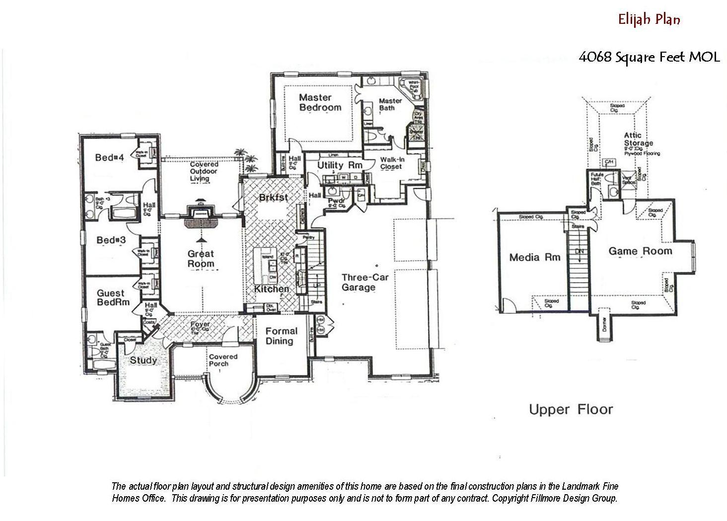 Elijah Floor Plan Custom home builders, Floor plans
