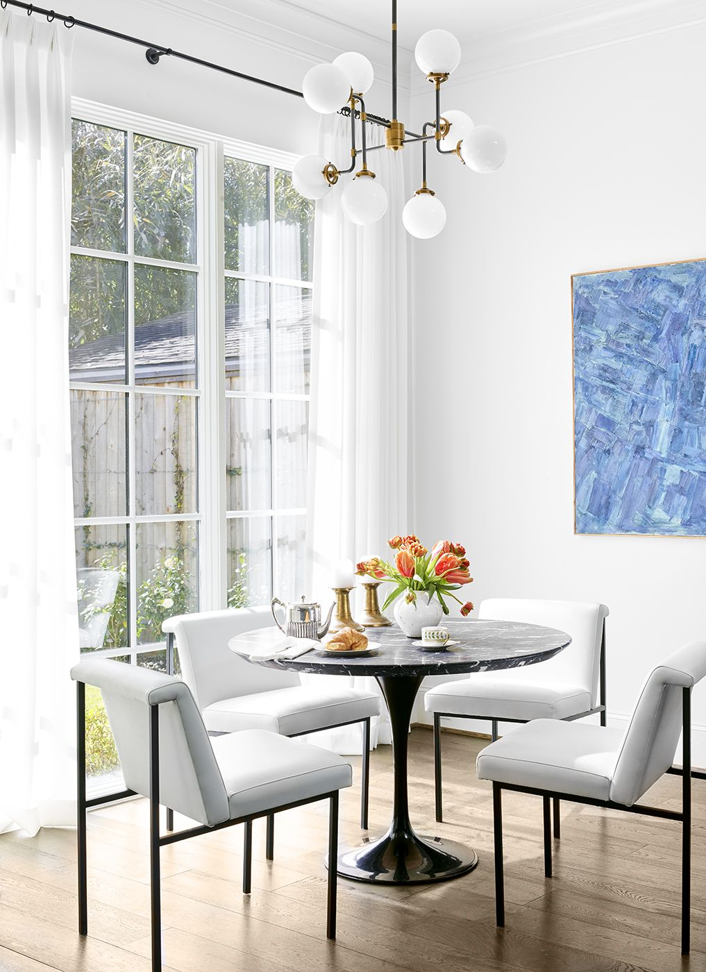 Trish Ireland Interiors With Images Black And White Dining