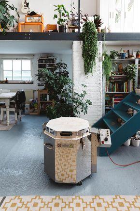 studio tour with ceramicist rena noordermeerof hear hear. / sfgirlbybay