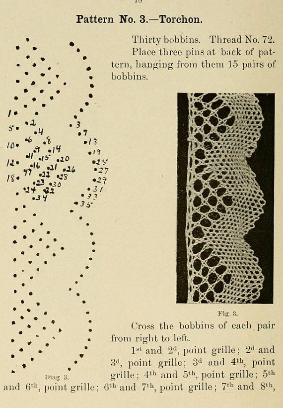 How To Make Lace Bobbin Lace Making 97 Pages Instructions Plus 12 Printable Patterns Instant Download See Reviews Bobbin Lace Printable Patterns Lace Making