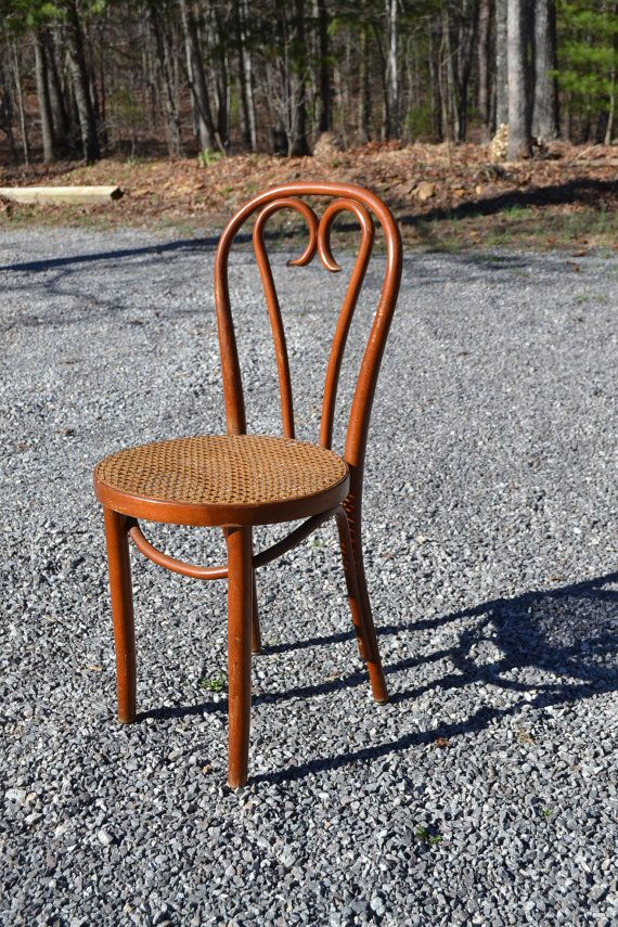 Vintage Thonet Style Bentwood Bistro Chair by PanchosPorch on Etsy