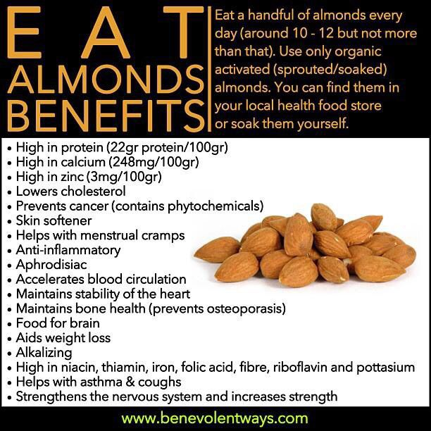 Benefits of eating almonds | Health - 316.4KB